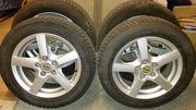 4 x Alu-Winterräder mit Michelin
