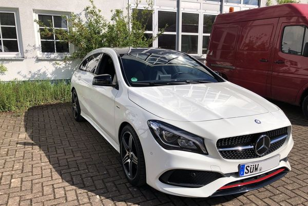 Mercedes CLA 250 Sport Shooting