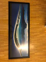 Bora Bora Acrylglasbild mit edlem