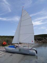 Segel-Schlauchboot Wiking Cat 380 mit