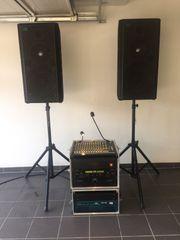 Professionelle Musikanlage PA DJ Mischpult