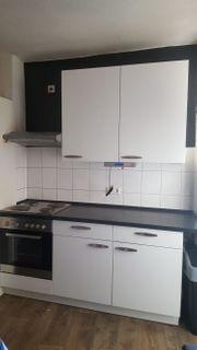 Einbauküche weiss grau 5 Jahre