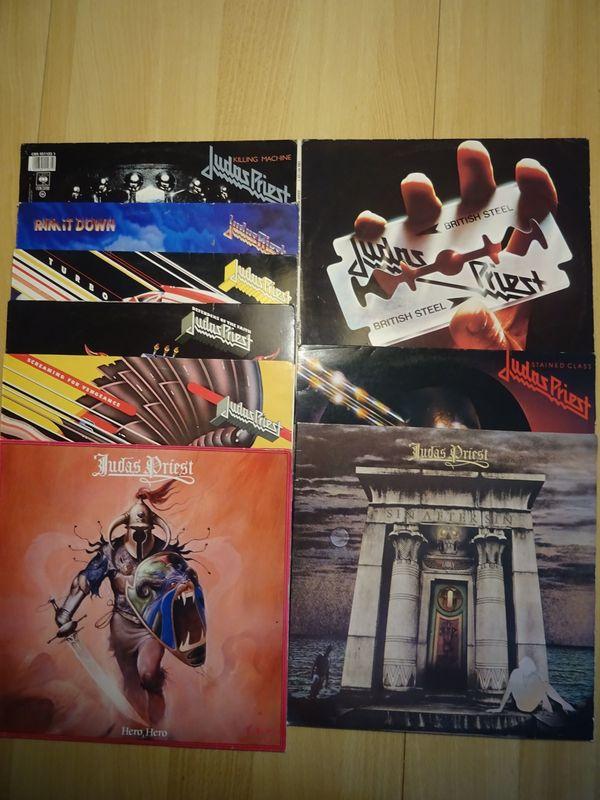 Schallplatten Judas Priest