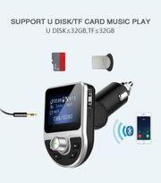 Bluetooth Auto FM Transmitter USB