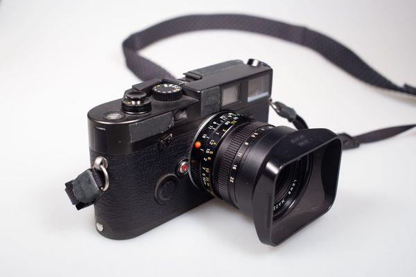 Fotografieren mit einer Leica M6