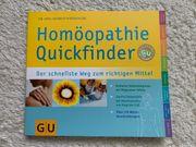 Buch Homöopathie Quickfinder