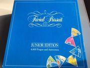 Trivial Pursuit Komplett Set-Junior Edition