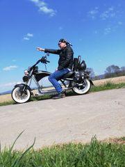 E bike scooter harley dising
