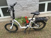 E-Bike Klapprad Faltrad Ansmann 20