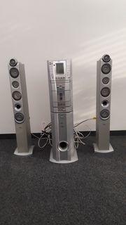 Musikanlage HI FI Turm mit