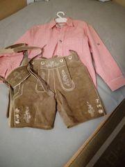 Lederhose und Hemd