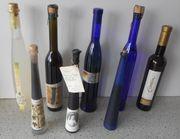 8 Flaschen Wein Eiswein Weinessig -