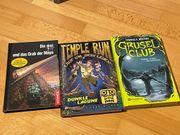 Drei Abenteuerbücher