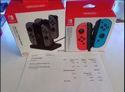 Nintendo Switch Ladestation Joy-con 2er