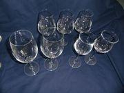 5 Diverse Gläser 2 Schott