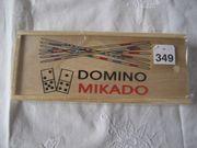 Holzspielzeug Mikado Domino Spiel Spielzeug