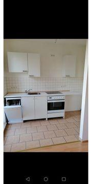 Verkaufe weiße Küche inklusive Bosch