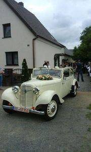 Oldtimer Cabrio Adler Triumph Junior