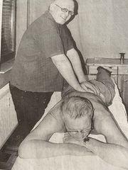 Kostenlose Massage für Senioren m