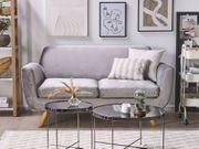 Sofabezug für 2-Sitzer BERNES Samtstoff