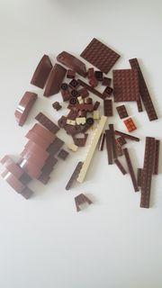 LEGO STEINE - BRAUN TRANSPARENT SCHWARz