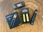 E-Zigarettte Vape Dampfe Uwell Nunchaku