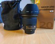Nikon Nikkor AF-S 20mm F1