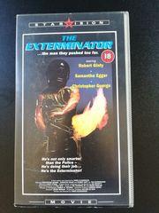 ORIGINAL VHS The Exterminator in