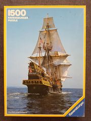 Puzzle - The golden hind 1500