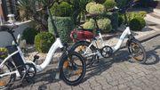 2 Klappräder E-Bike 500WH TESTSIEGER