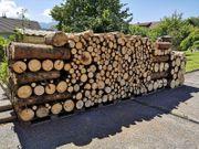 Verkauf von Brennholz