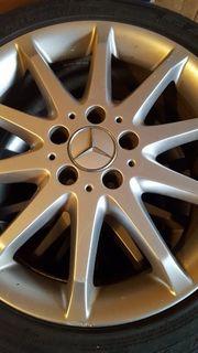 Mercedes Alufelgen mit Reifen