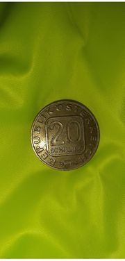 20-Schilling Münze