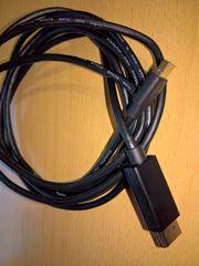 Kabel Paket aus Display Port