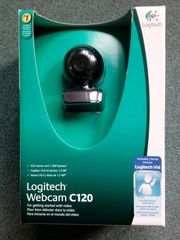 1 Webcam Logitech Webcam C120