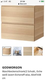 Ikea Godmorgon Waschbeckenschrank Wandschrank Hochschrank