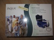 Inhalataor INQUA BR021000 neu gekauftem Vernebler-Maseken-Set
