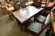 Esstisch 125x80x89 mit 6 Stühlen
