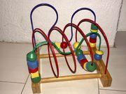 Motorikschleife Kinder Holzspielzeug