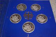 10 DM Silbermünzen
