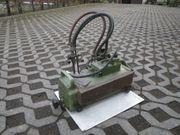 Autogen-Schneidgerät mit elektr Antrieb aus