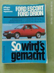 Reparaturhandbuch Ford Escort 1980-90 inkl
