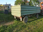 Traktor Anhänger Kipper