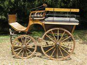 Pferde-Kutsche