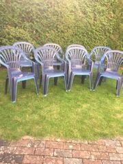 Gartenstühle plastik