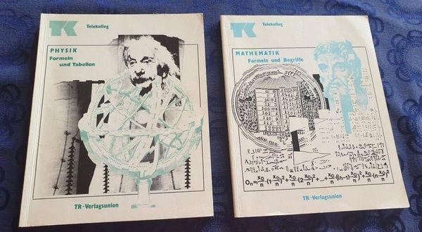 2 Fachbücher von Telekolleg Mathe