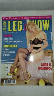Legshow viele Magazine