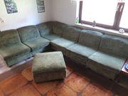 Wohnlandschaft Couch - neu gepolstert retro