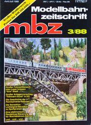 Modelleisenbahn Zeitschrift MBZ 3 1988