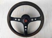 Vintage Porsche 911 Sportleder-Lenkrad Schwarz